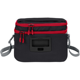 VAUDE Road II Handlebar Bag black/red
